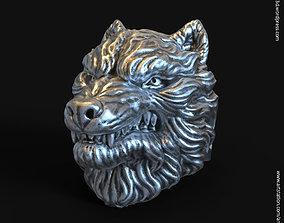 3D print model wolf vol1 ring