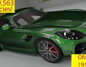 Mercedes AMG GTR 3D model