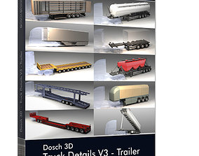 container Dosch 3D - Truck Details V3 - Trailer