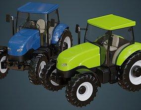 3D model Tractor 1A