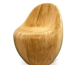 3D model Modern Wood Chair