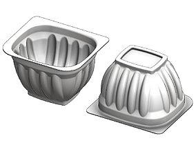 3D print model Yogurt and custard cup