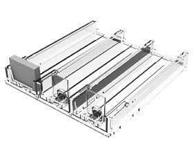 3D model TABACCO SHELF PUSHER TRAY