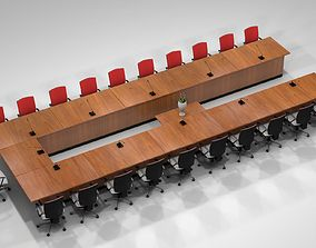 Meeting table chair architecture-challenge 3D model