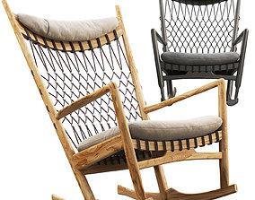 3D model PP124 Rocking Chair