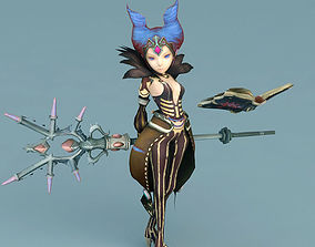 3D model Dragon Nest witch - w3