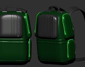 purse backpack sculpt 3d printable