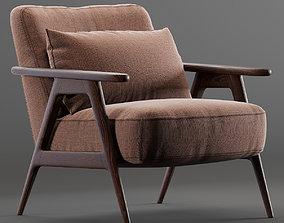 3D model John Lewis end Partners Hendricks Accent Chair