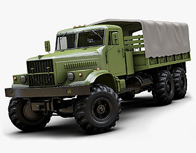 Kraz 255b 3D model