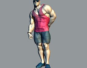3D print model Bodybuilder human