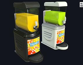 Juice and Slushie Machine 3D asset