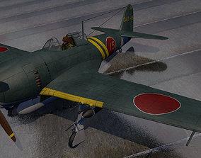 Kawanishi N1K2-J Shiden Kai - George 3D model