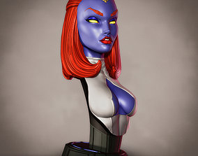 Campbells Mystique Bust 3D printable model