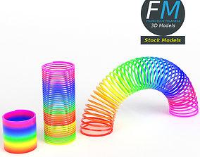 3D Magic springs toy set