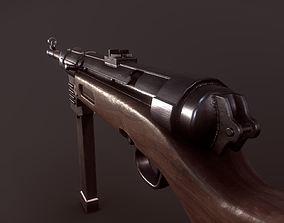 3D asset MP41 Submachine Gun