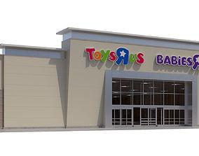 Retail-012 Toys R Us Babies R Us 3D