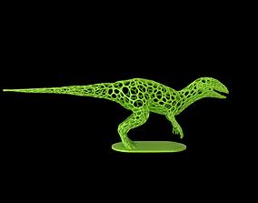 3D print model Dinosaur Voronoi wireframe