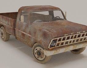 3D model Old Pick Up