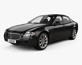 3D Maserati Quattroporte 2004