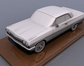 3D print model Chevy Impala SS Coupe 1962