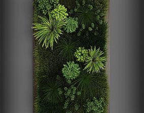 Vertical gardening 02 3D model