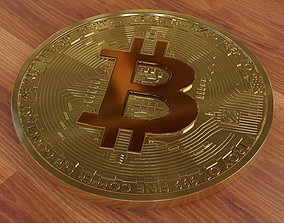 Bitcoin is a new kind of money 3D model