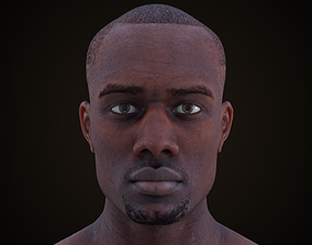 3D asset Cinematic Male 002