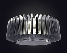Modern Round Ceiling Lamp 3D