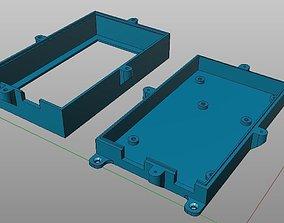 3D print model Box for ArduinoMega plus Sensor