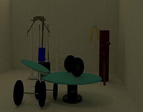 training assest 3D model