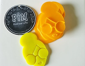 3D print model Lady Smart Cookie Cutter and stamp