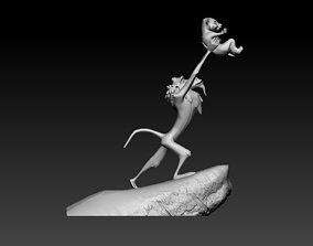 Lion King 3D printable model