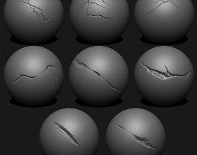 3D Crack Brush