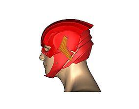 3D printable model Justice league Flash helmet