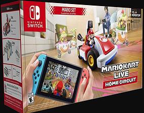 3D asset Mario Kart Home Circuit Box