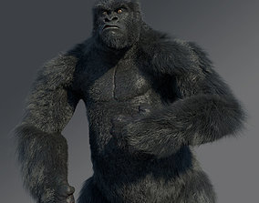 Gorilla rigged creature 3D model