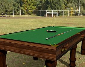 billiard 3D model