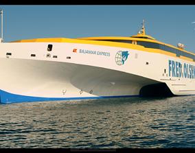 Boat Fred olsen express 3D