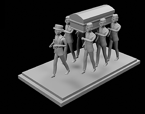 3D printable model Coffin Dance