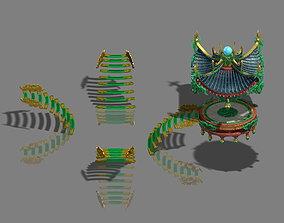 Large city square - pavilion 3D model