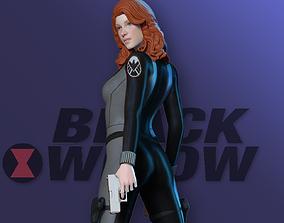 Black Widow - Fan art 3D printable model