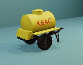 3D kvass barrel