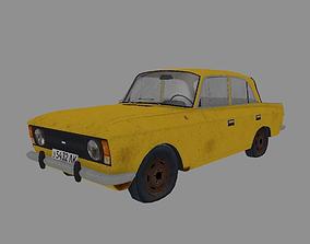 3D asset Soviet Vehicle MOSKVICH 412