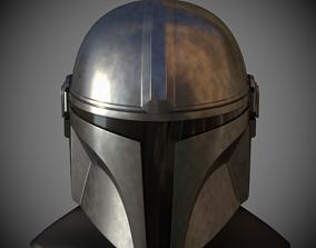 armor 3D print model Mandalorian Helmet