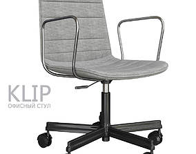 VR / AR ready Viccarbe KLIP Armchair 3d model