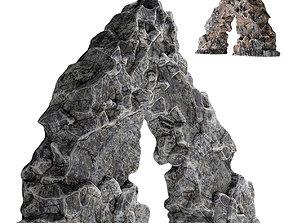 Rock sea arch 3D model