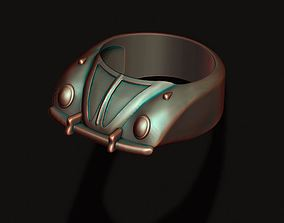 car ring 3D print model cult