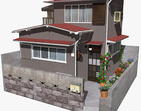 3D model Sendagaya House