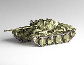 3D model T-62A Medium Tank