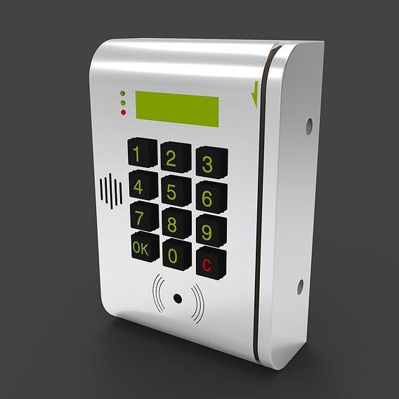 Door Swipe Card Reader Lock